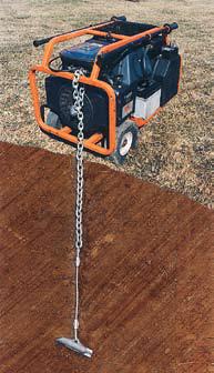 Зафиксировать оборудование с помощью грунтовых анкеров Манта Рей и предотвратить кражу
