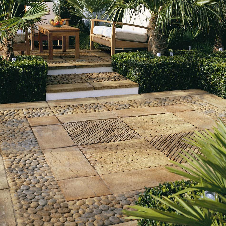 Материалы для дренажа террасс и внутренних двориков (патио)
